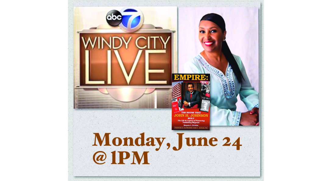 Dr. Christian in promotional materials for Windy City Live