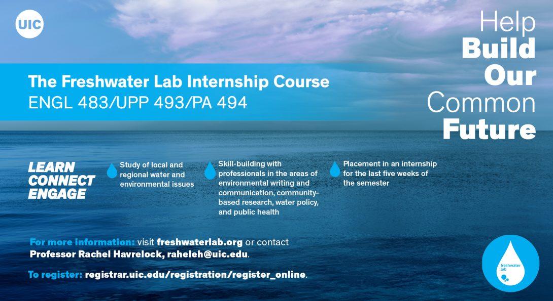 Freshwater Lab Internship slide